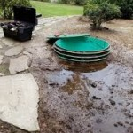 septic system overflowing drain field repair
